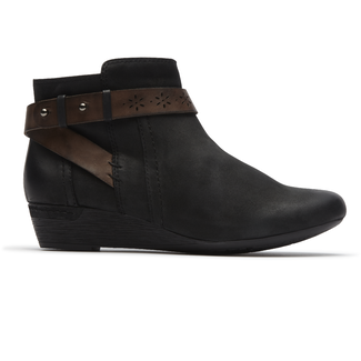 Joy Bootie Cobb Hill by Rockport in Black