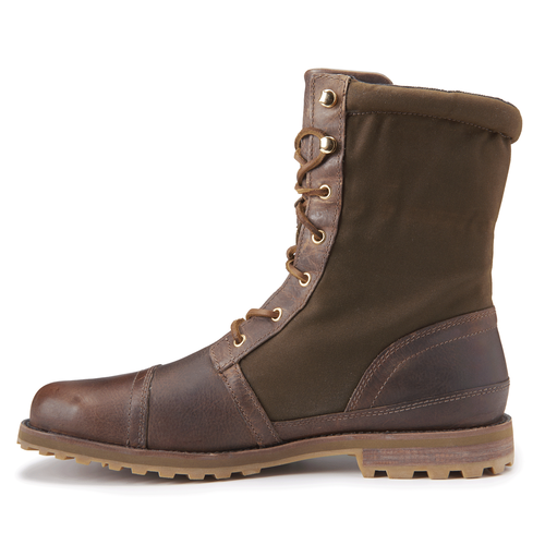 Barbour Captoe Boot in Brown