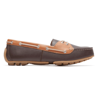 Cambridge Blvd Boat ShoeRockport Women's Black Cambridge Blvd Boat Shoe