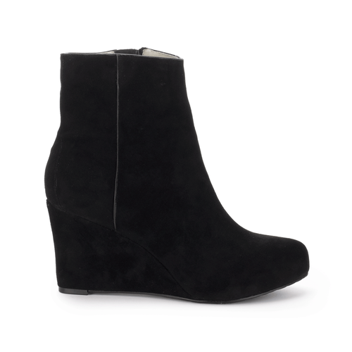 Seven to 7 Wedge Bootie Women's Boots in Black
