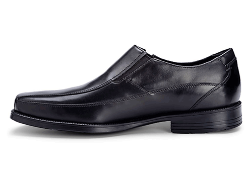 Ready For Business Slip On Men's Dress Shoes in Black