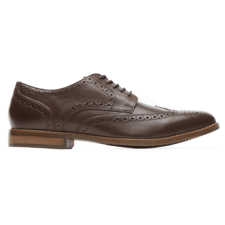 Style Purpose Wingtip in Brown