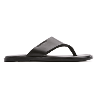 Beach Affair Thong Men's Dress Casual Shoes in Black