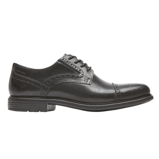 Total Motion Classic Dress Cap Toe, BLACK