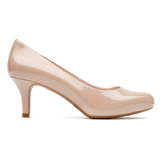 Seven to 7 Low Pump - Women's Tan Heels