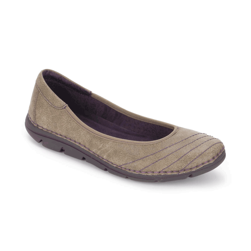RocSports Lite Ballet Women's Flats in Grey