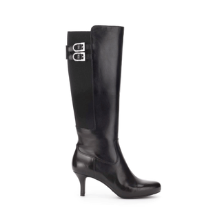 Seven to 7 Low Tall Wide Calf Boot Women's Boots in Black