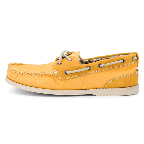 Coastal Springs 2 Eye Boat Men's Boat Shoes in Yellow