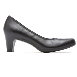 Hezra Pump, BLACK LEATHER