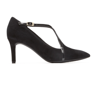 Total MotionPointed Toe T-Strap in Black