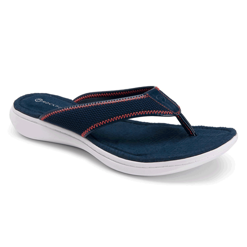 Aislyn Simple Thong Women's Sandals in Navy