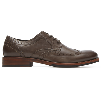 Wyat Wingtip Oxford, COFFEE LE
