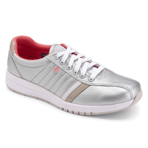 Zana Bike Front Oxford Women's Sneakers in Grey