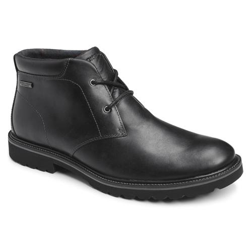 Ledge Hill Waterproof Chukka Men's Boots in Black