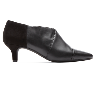 Keturah Captoe Shootie in Black