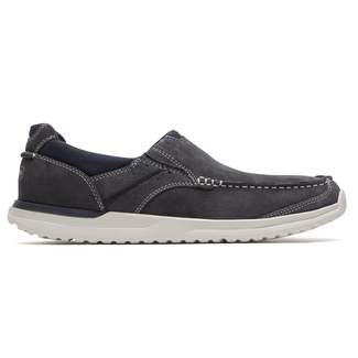 Langdon Slip-On  Comfortable Men's Shoes in Navy