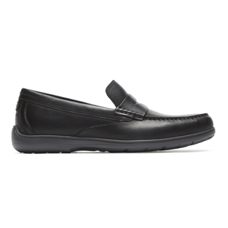 Total Motion Penny Loafer Comfortable Men's Shoes in Black