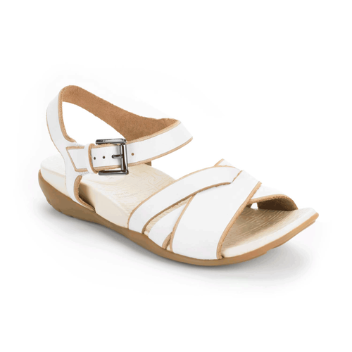 truJoris Anklestrap Women's Sandals in White