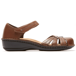 Cambridge Clarissa Fisherman Sandal in Brown