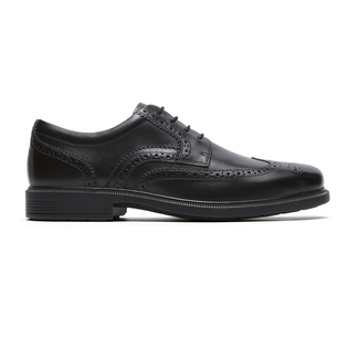 DresSports Luxe Wingtip Oxford in Black