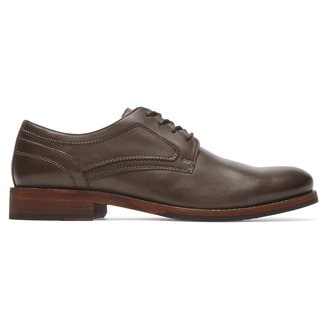 Wyat Plain Toe, COFFEE LE