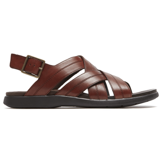 DresSports Sling Sandal in Brown