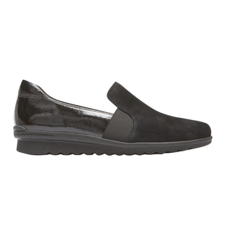 truFLEX Chenole Slip On, BLACK SUEDE