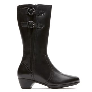 Provence Waterproof Pauline Side Zip Boot in Black