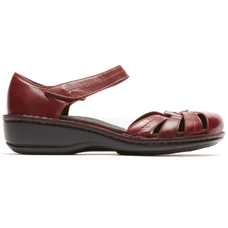 Cambridge Clarissa Fisherman Sandal in Red