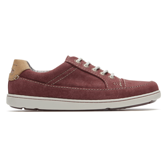 Gryffen Lace-Up Comfortable Men's Shoes in Red