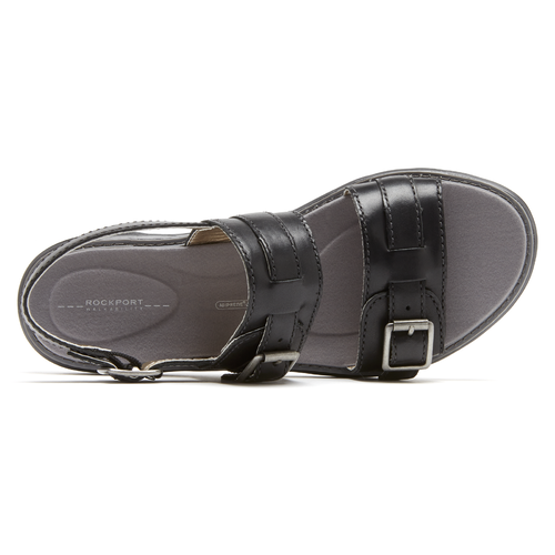 truWALKzero 2 Band Sandal Women's Sandals in Black
