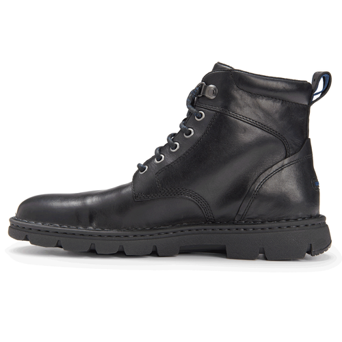 RocSports Lite Rugged Plain Toe Boot Men's Boots in Black