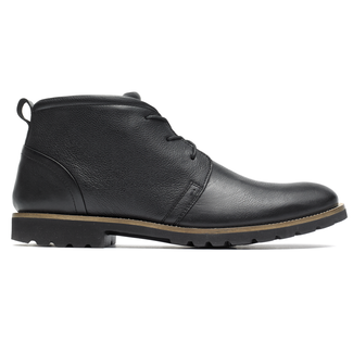 Sharp & Ready Charson Chukka, BLACK