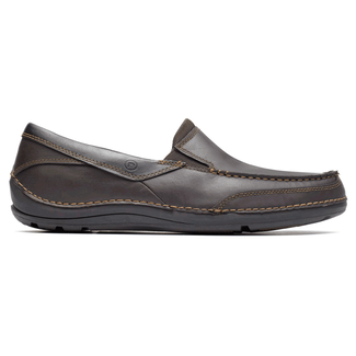 BalabourBalabour - Men's Dark Brown Slip on Shoes