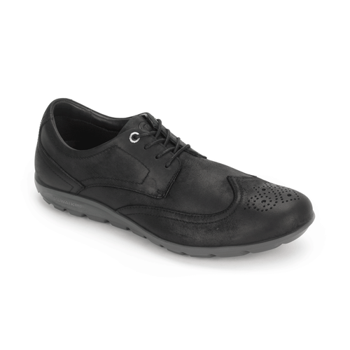 truWALKzero II Wingtip - Men's Black Walking Shoes