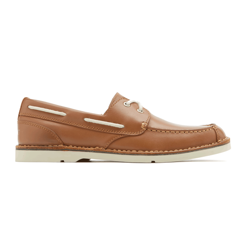Vacation Ready 2 Eye Men's Boat Shoes in Brown