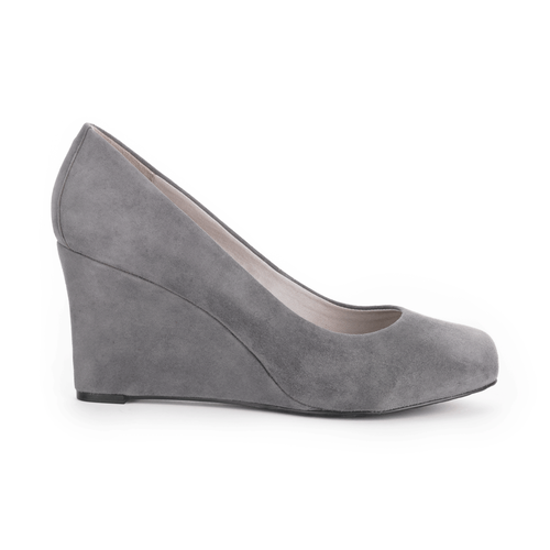 Seven to 7 Wedge Women's Heels in Grey