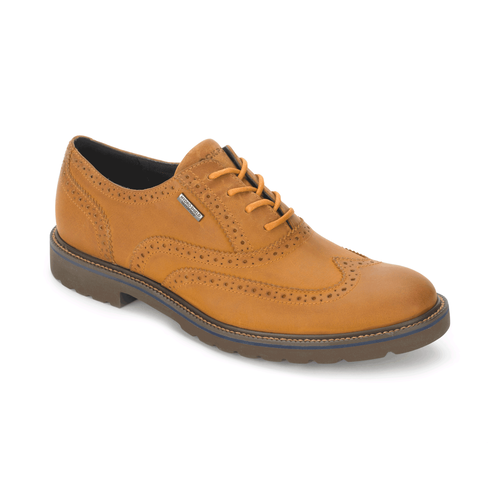 Ledge Hill Waterproof Wingtip Men's Wingtips in Grey