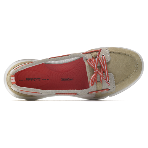 Rockport Women's Rocksand Cycle Motion Boat Shoe Washable