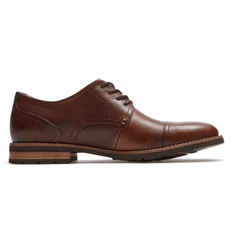 Ledge Hill 2 Cap Oxford in Brown