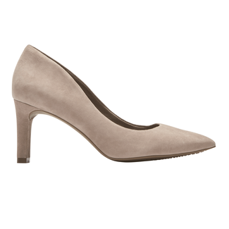 Total Motion Valerie Luxe Pump, PEBBLE SUEDE