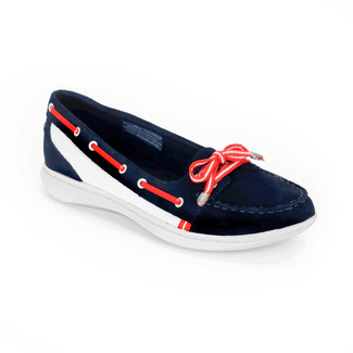 Cycle Motion Boat Shoe Women's Boat Shoes in Navy