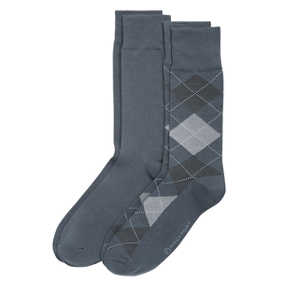 Men's Argyle Crew Socks ,