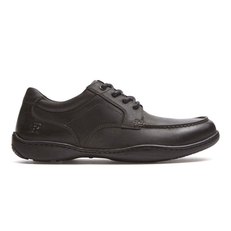 Rocker Landing II Moc OxfordRockport Men's Black Rocker Landing II Moc Oxford