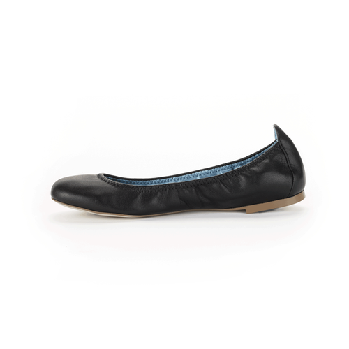 Daya Plain Ballet Women's Flats in Black