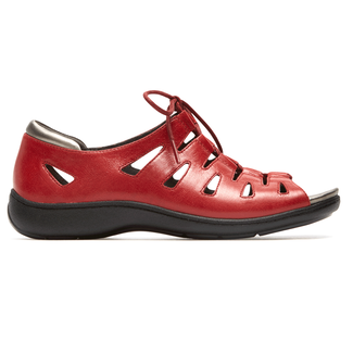 Bromly Ghille Sandal Extended Size Women's Shoes in Red