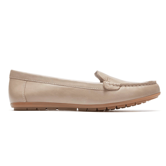 Rockport Women's Tan Demisa II Plain Moc