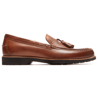 Classic Move Hanging Tassel Loafer in Brown