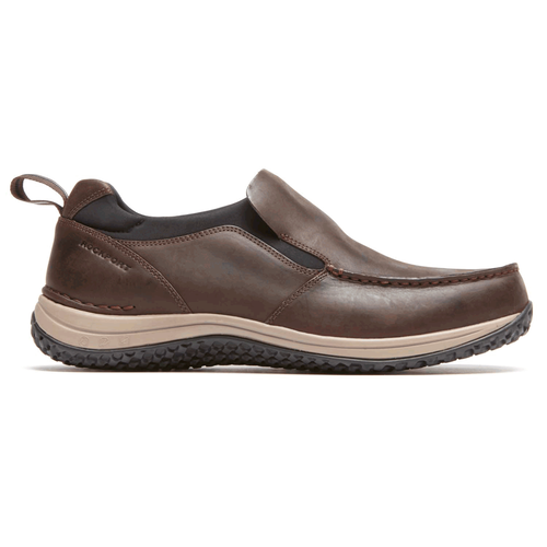 WALK360 Moc Slip On Men's Active Shoes in Brown