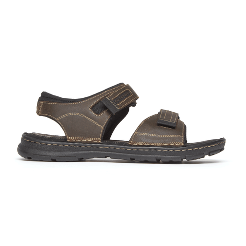 Darwyn Quarter Strap Sandal Comfortable Men's Shoes in Brown